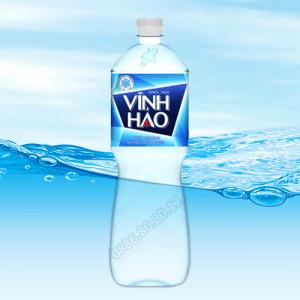Nước khoáng Vĩnh Hảo không ga 1.5 lít